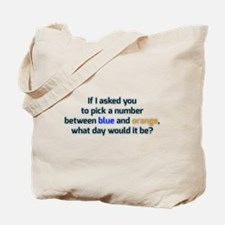 Confused and dazed Tote Bag
