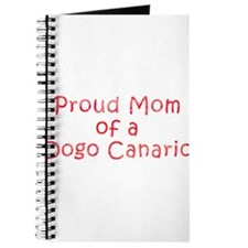 Proud Mom of a Dogo Canario Journal