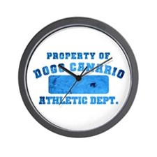 Property of Dogo Canario Athletic Department Wall