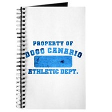 Property of Dogo Canario Athletic Department Journ