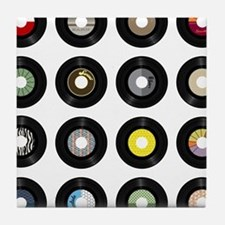 Records Tile Coaster