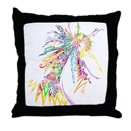 colour explotion Throw Pillow
