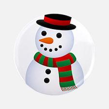 """snowman 3.5"""" Button (100 pack)"""
