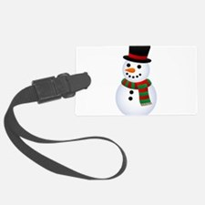 snowman Luggage Tag