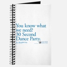 30 Second Dance Party Quote Journal