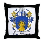 Hill Coat of Arms Throw Pillow