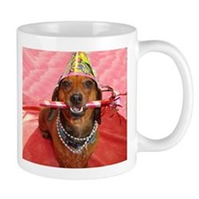 Party Animal Dachshund Mug