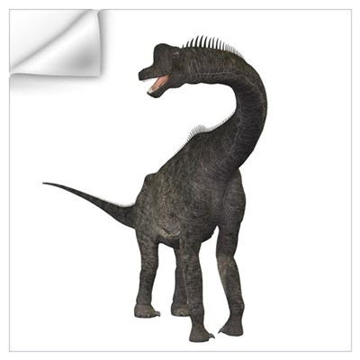 Brachiosaurus dinosaur Wall Decal