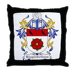 Higginbotham Coat of Arms Throw Pillow