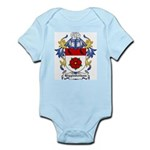 Higginbotham Coat of Arms Infant Creeper