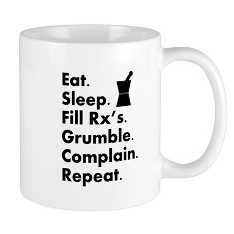 pharmacy eat sleep grumble.PNG Mug