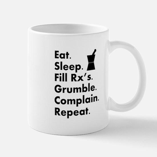 pharmacy eat sleep grumble.PNG Mug
