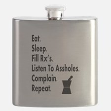 pharmacy eat listen to assholes.PNG Flask