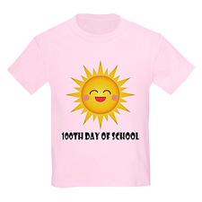 100th Day Of School Sun T-Shirt