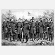 Digitally restored Civil War picture featuring fam