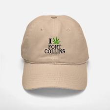 I Cannabis (Love) Fort Collins Baseball Baseball Cap