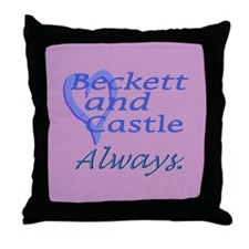 Beckett Castle Always Throw Pillow