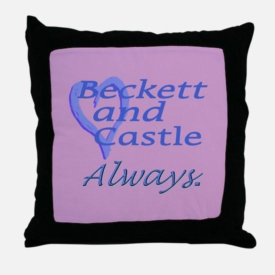 Beckett Castle Always Throw Pillow