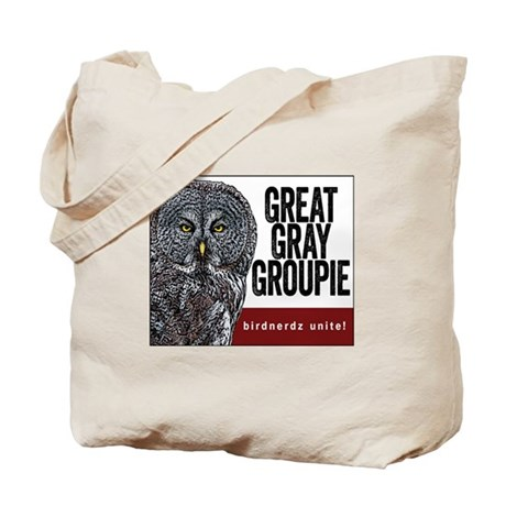 Great Gray Groupie Tote Bag