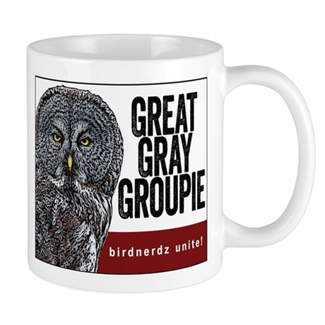 Great Gray Groupie Mug