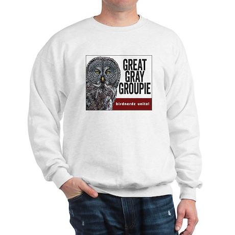 Great Gray Groupie Sweatshirt