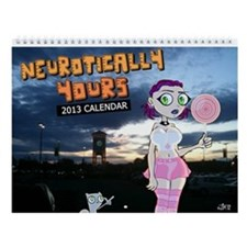 Neurotically Yours Poster 2013 Wall Calendar