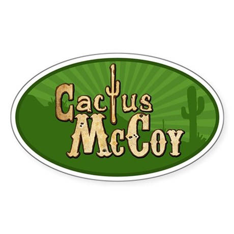 Cactus McCoy Sticker