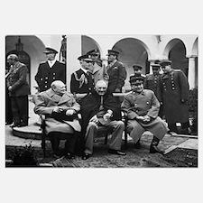 Digitally restored photo of Winston Churchill, Fra