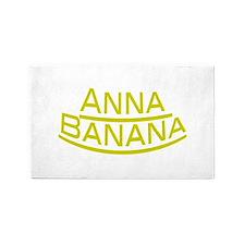 Anna Banana 3'x5' Area Rug