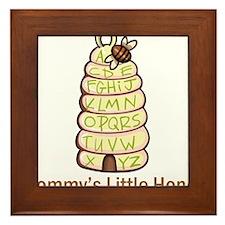 Mommy's Little Honey Framed Tile