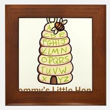 Mommy's Little Honey Framed Tile