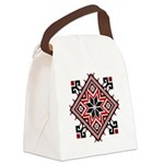 Folk Design 7 Canvas Lunch Bag