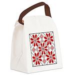 Folk Design 6 Canvas Lunch Bag