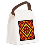 Folk Design 5 Canvas Lunch Bag