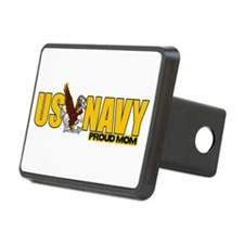 Proud Navy Mom Hitch Cover