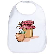 Apple Butter Jam Bib