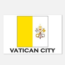 Vatican City Flag Stuff Postcards (Package of 8)
