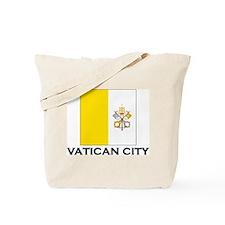 Vatican City Flag Stuff Tote Bag