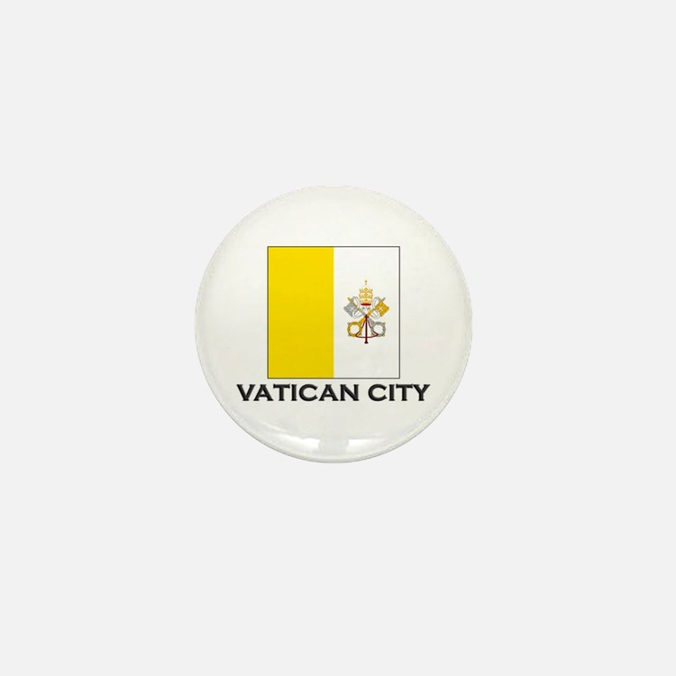 Vatican City Flag Stuff Mini Button