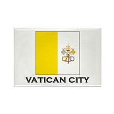 Vatican City Flag Stuff Rectangle Magnet