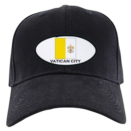 Vatican City Flag Stuff Black Cap