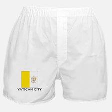 Vatican City Flag Stuff Boxer Shorts