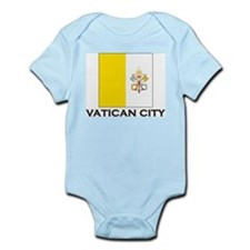 Vatican City Flag Stuff Infant Creeper