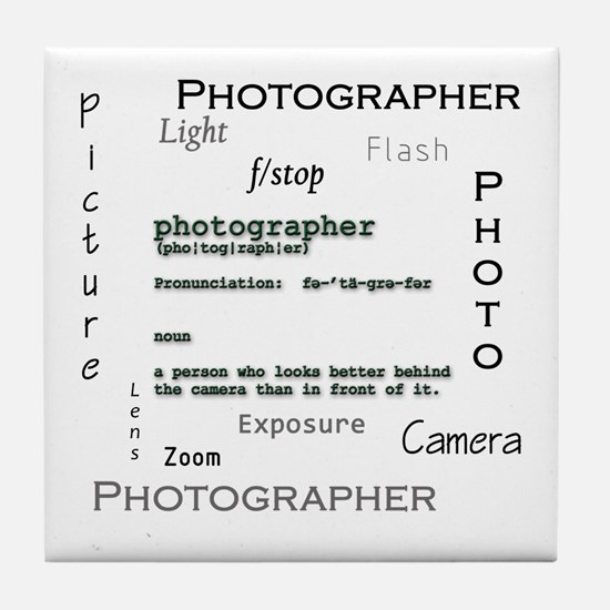 Photographer-Definitions.png Tile Coaster