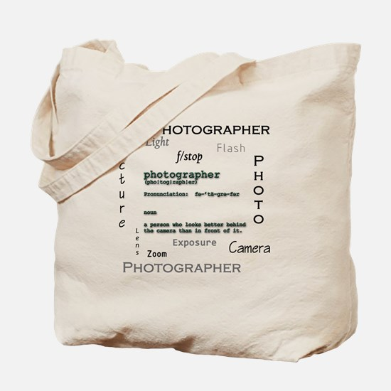 Photographer-Definitions.png Tote Bag
