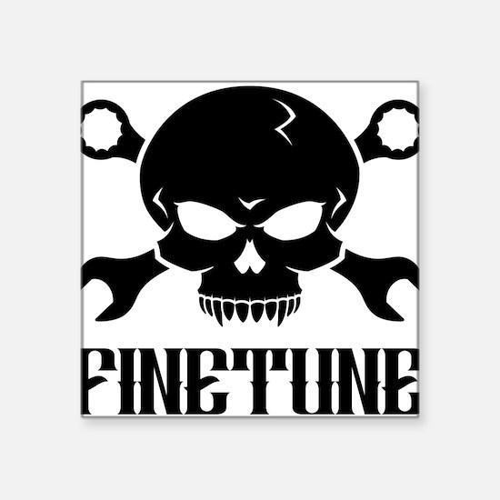 """Skull n Tools 2 - Finetune Square Sticker 3"""" x 3"""""""
