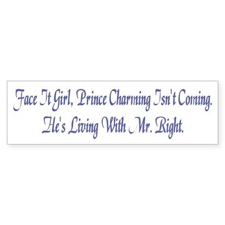 Prince Charming Bumpersticker