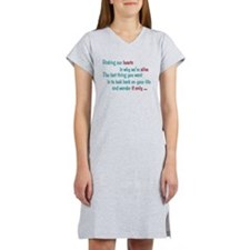 Castle: Risking Our Hearts Women's Nightshirt