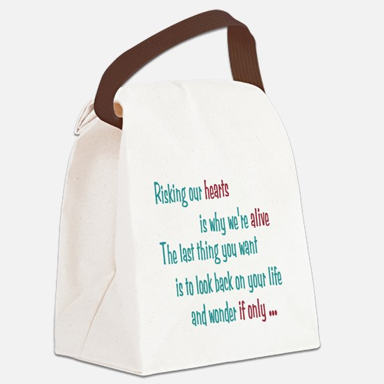 Castle: Risking Our Hearts Canvas Lunch Bag