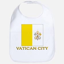 Vatican City Flag Gear Bib